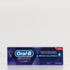 Oral B 3D White Brillo saludable, 75ml