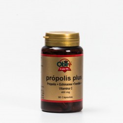 Obire Própolis Plus 400 mg, 90 Caps.