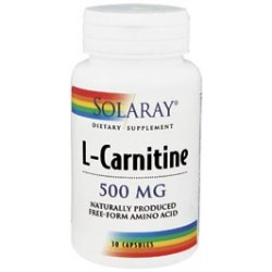 Solaray L-Carnitina 500 mg, 30 Caps.