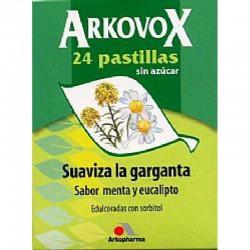 Arkovox 24 Pastillas de Menta