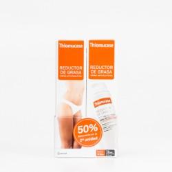 Thiomucase Reductor de grasa Crema anticelulítica duplo, 2x200ml.