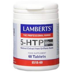LAMBERTS 5-HTP 100 mg, 60 comprimidos.