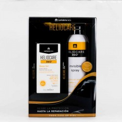 Heliocare 360 Pack Spray Invisible + Water Gel, 200ml+50ml.