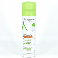 A-Derma Exomega Control Spray Emoliente Anti-rascado, 200ml.