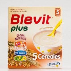 Blevit plus Superfibra 5 Cereales, 600g.