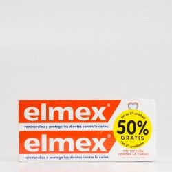 Elmex Pasta dental 75ml duplo