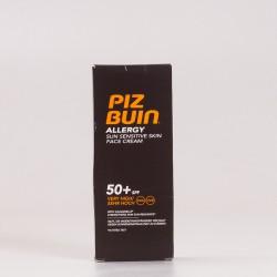 Piz Buin SPF50 Allergy Crema Facial, 50ml.