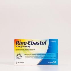 Rino-Ebastel 10 mg/120 mg 7 Cápsulas