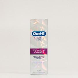 Oral B 3D White Luxe acelerador del blanqueamiento, 75ml.