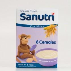 Sanutri 8 cereales, 600g.