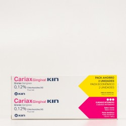 Cariax Gingival Pasta dental Duplo, 2x125ml.