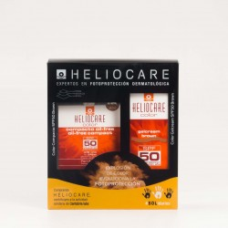 Pack Oferta Heliocare Gel-crema Brown + Heliocare Compact Oilfree Brown