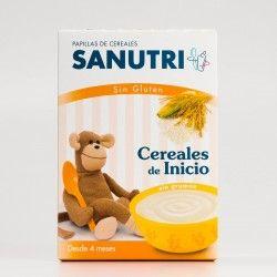 Sanutri Cereales de Inicio Sin Gluten, 600g
